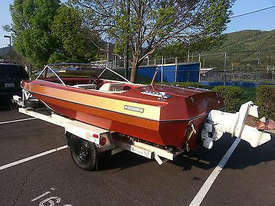 CLASSIC 1978 American SKI Boat 18' 2