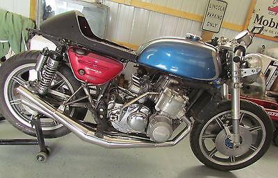 Suzuki : Other Suzuki GT750 GT 750 1972 72 inverted Forks spare engine Cafe Race custom ahmra