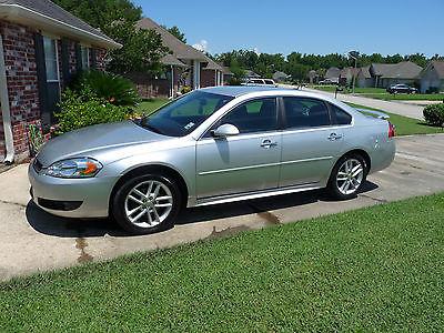 Chevrolet : Impala Sedan 2013 chevrolet impala ltz flex fuel low miles