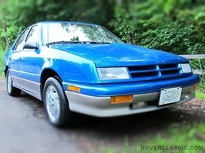 Dodge : Shadow ES 1993 dodge shadow es 81 187 original miles one owner