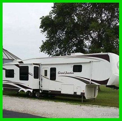 2007 Dutchmen Grand Junction 40' Fifth Wheel 3 Slide Outs A/C Generator INDIANA