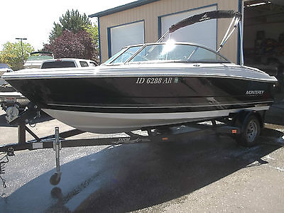 2007 MONTEREY 180 BOW RIDER, RUNABOUT BOAT, 190HP VOLVO V6 4.3L, 71 HOURS, LOOK!