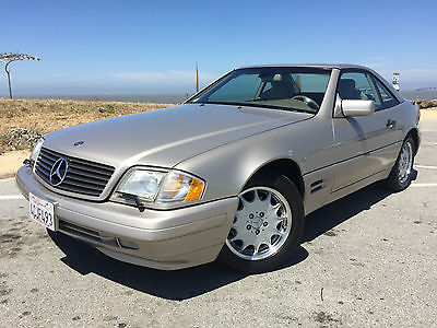 Mercedes-Benz : SL-Class SL500 Convertible with Removable hard top, Leather, Windscreen, Hard top caddy,