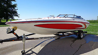 2012 Checkmate Pulsare 2000BRX Power Boat With Trailer Low Hours 20' Open Bow
