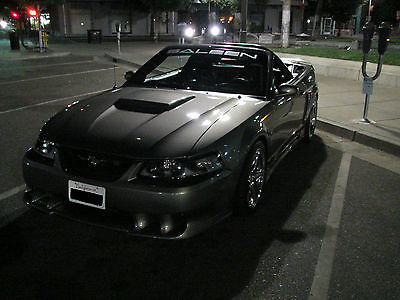 Ford : Mustang Saleen s281sc CUSTOM BUILT 2001 FORD MUSTANG SALEEN KENNE BELL FOR SALE OR TRADE !!!