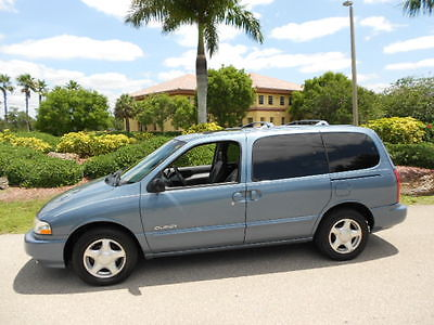 Nissan : Quest SOUTHERN VAN! LEATHER-ROOF-LOW MILES! CLEAN 1999 NISSAN QUEST SE SOUTHERN RUST FREE! LEATHER-SUNROOF-7-PASSENGER