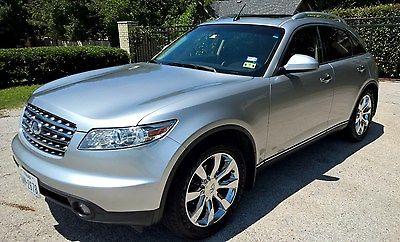 Infiniti : FX Very clean - rust free Texas vehicle