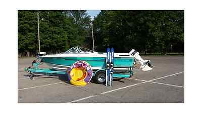 Ozark V-174 - 17' Fish & Ski – 1990, Johnson 88 Spl Outboard (Indianapolis, IN)