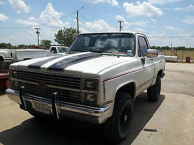 Chevrolet : Blazer k5 blazer 84 chevy trazer