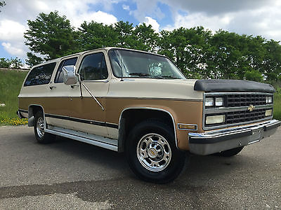 Chevrolet : Suburban SCOTTSDALE Clean Suburban 2500  454 Big Block! 7.4,West Coast Truck. VIDEO!  NICE SUV. LOOK