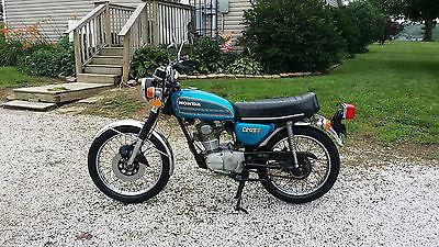 Honda : CB 1975 honda cb 125