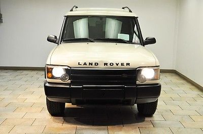 Land Rover : Discovery S 2003 land rover discovery white black low miles rare color