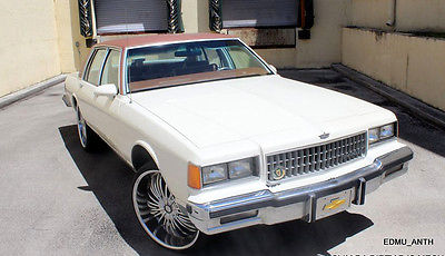 Chevrolet Caprice brougham cars for sale