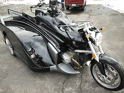 Custom Built Motorcycles : Other CUSTOM BUILT - BMW CONQUEST
