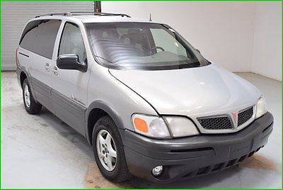 Pontiac : Montana 3.4L V6 4x2 Passenger Van Leather Heated int FWD FINANCING AVAILABLE!! CLEAN CARFAX! 121k Miles Used 2001 Pontiac Montana FWD Van
