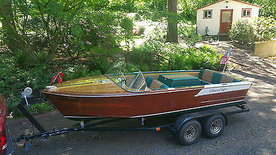 1961 Chris Craft 19 ft Continental with trailer Restored in 2015
