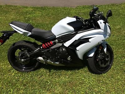 American Classic Motors : 650 Ninja 2013 kawasaki ninja 650 abs pearl white 800 miles and garage kept