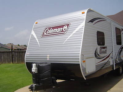 coleman 27' camp trailer