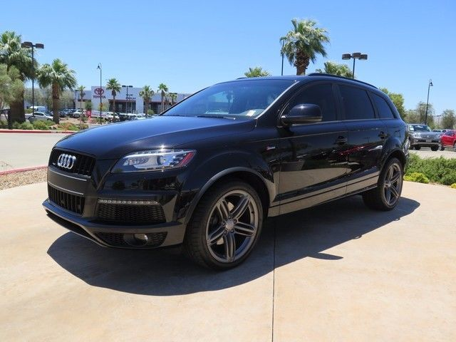 Audi : Q7 3.0T PRESTIG 3.0 t suv 3.0 l 1 owner awd navigation panormatic sun roof supercharged rear camer