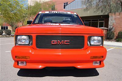 GMC : Sonoma Syclone 6' AWD 1991 gmc syclone marlboro edition 1 of 10 made very rare hard to find