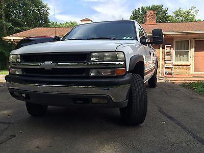 Chevrolet : Silverado 1500 1500 HD LT Supercharged 2002 Chevrolet Silverado 1500 HD LT Crew Cab Pickup 4-Door 6.0L