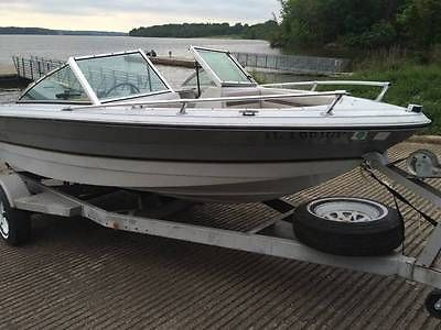 1985 Rinker V170 Outboard, Boat and trailer only (NO OUTBOARD MOTOR INCLUDED)