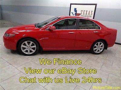 Acura : TSX Sedan 05 tsx sedan leather heated seats sunroof we finance texas