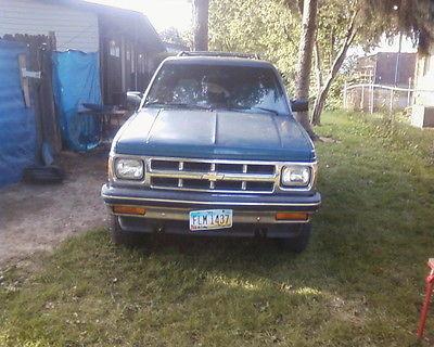 Chevrolet : S-10 1994 chevrolet chevy joy hatchback 4 door 4.3 motor