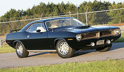 Plymouth : Barracuda 'Cuda340 1970 plymouth cuda 340 shaker hood 5 speed