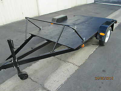 Motorcycle, ATV, Utility Trailer. Newley rebuilt, excellent condition!