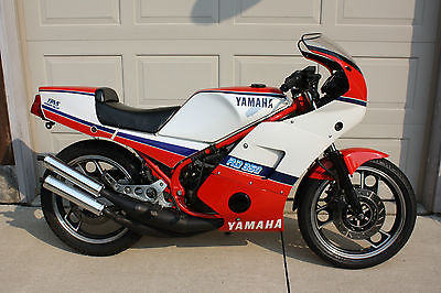Yamaha : Other 1985 yamaha rz rd 350 clean collector bike c w micron gp pipes