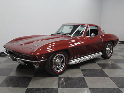 Chevrolet : Corvette #'S MATCHING 327 V8, 700R4, A/C, PWR WIN, PWR STEER, GREAT PAINT, MOVIE & TV CAR