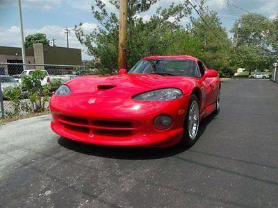 Dodge : Viper GTS 1998 viper coupe gts 14000 miles 8 l v 10 rwd manual leather