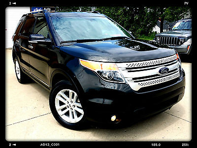 Ford : Explorer XLT AWD LEATHER SEATS NAVIGATION REAR VIEW CAMERA PANORAMIC MOONROOF 3RD ROW SEAT