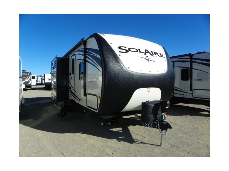 2015 Forest River SOLAIRE ECLIPSE 263RBDSK