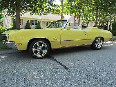 Buick : Skylark Gran Sport Stage One 1972 buick gs stage one convertible replica