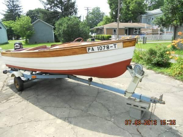 14' 1956 Barbour Runabout
