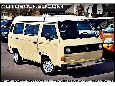 Volkswagen : Bus/Vanagon Westfalia Built for the road ahead! Check out this pristine Vanagon Westafalia