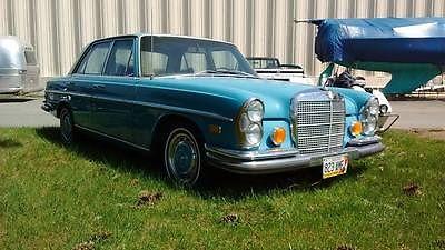 Mercedes-Benz : 200-Series SEDAN RARE 1970 MERCEDES 280 SE, DIESEL 68K CALIFORNIA CAR, RARE NO RESERVE 67,68.69