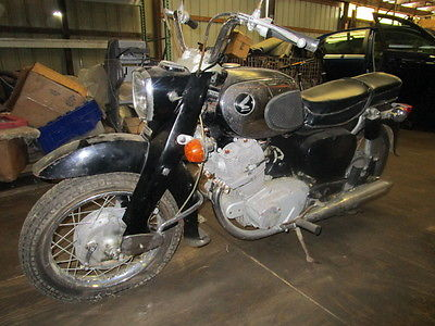 Honda : Other 1965 honda dream low miles runs and drives great needs minor tlc good condition