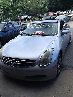 Infiniti G35 Coupe 2 Door Cars For Sale In Pennsylvania