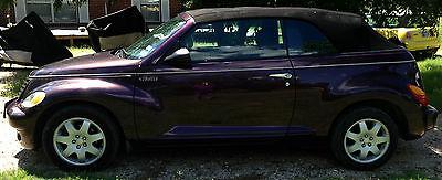 Chrysler : PT Cruiser Touring Convertible 2-Door 2005 chrysler pt cruiser convertible excellent condition low mileage