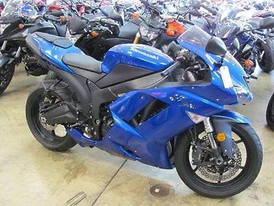 Kawasaki : Ninja 2008 kawasaki ninja zx 6 r plasma blue