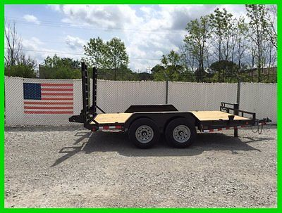 2015 Load Trail CH8314072EQ 83X14 Tandem Steel Equipment/Skidsteer Trailer - New