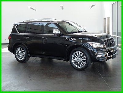 Infiniti : QX80 Certified 2015 used certified 5.6 l v 8 32 v automatic suv bose premium