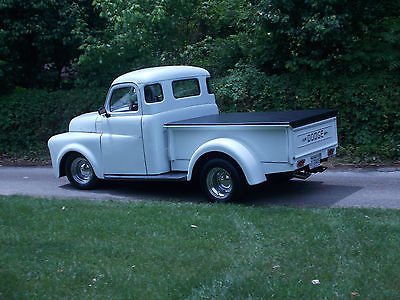 Dodge : Other pickup short bed 1950 dodge 5 window pickup short bed on s 10 chassis with sbc 350 ci