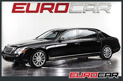 Maybach : 62 S Sedan 4-Door MAYBACH 62S, ONE OF A KIND, PREVIOUSLY OWNED BY MARY J BLIGE, IMMACULATE