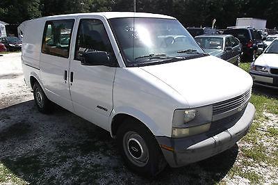 Chevrolet : Astro 1999 Chevrolet Astro Base Cargo Van 3-Door 4.3L Wo 1999 chevrolet astro base cargo van 3 door 4.3 l work vehicle low reserve