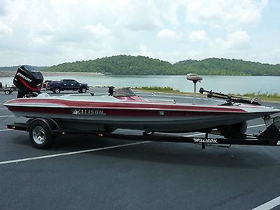 Allison XTB21 1993 Bass Boat W/2004 225EFI Merc