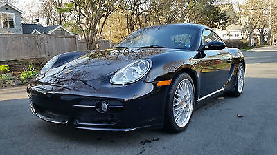 Porsche : Cayman Black 2007 porsche cayman s with very low mileage 6 speed manual